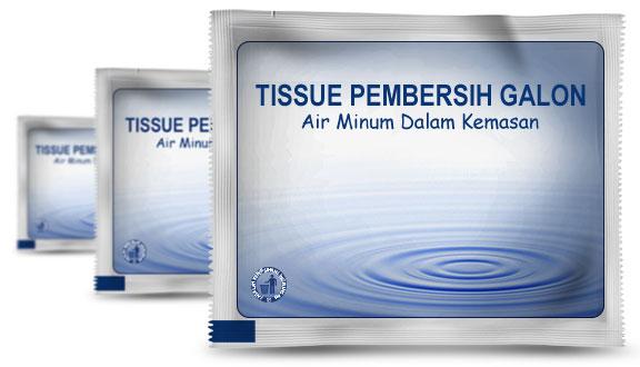 hukum tissu air galon