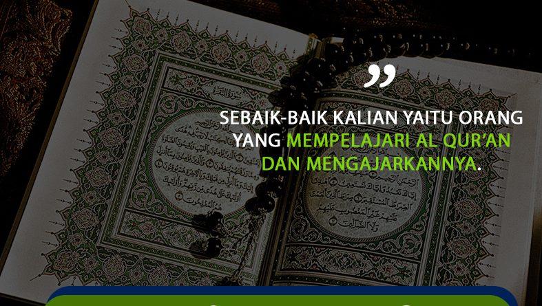 Persyadha Al Haromain | Keutamaan Membaca Al Qur'an
